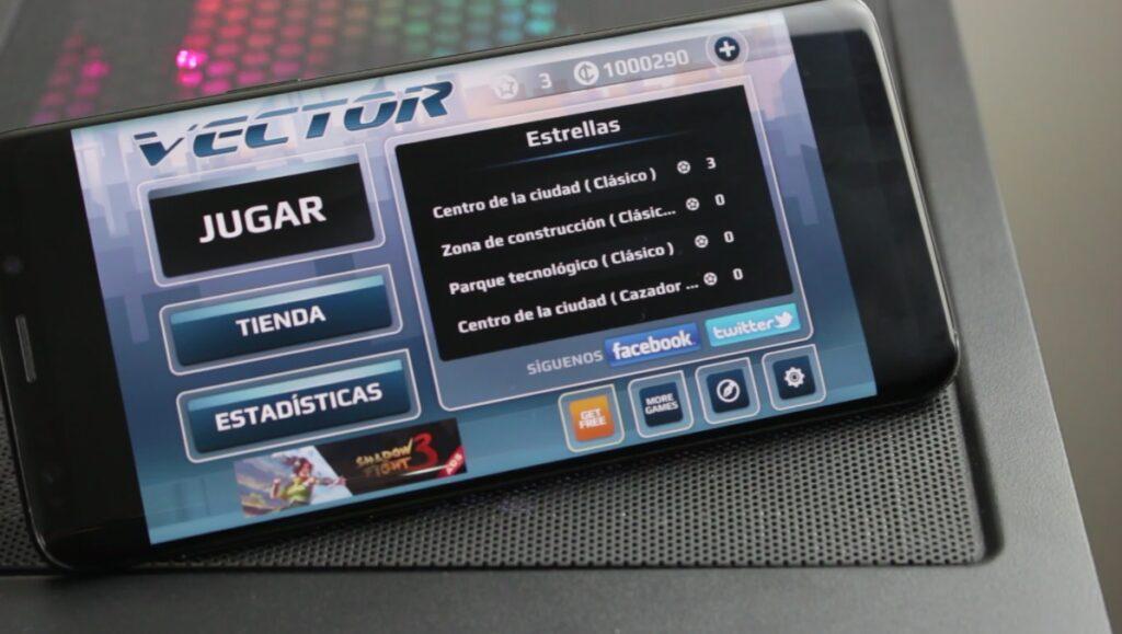 Vector juego android arcade