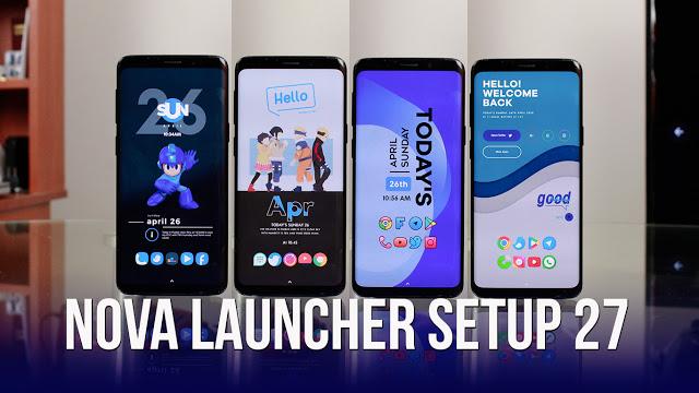 Nova Launcher Setup 27   Personalizaciones Android Extremas!