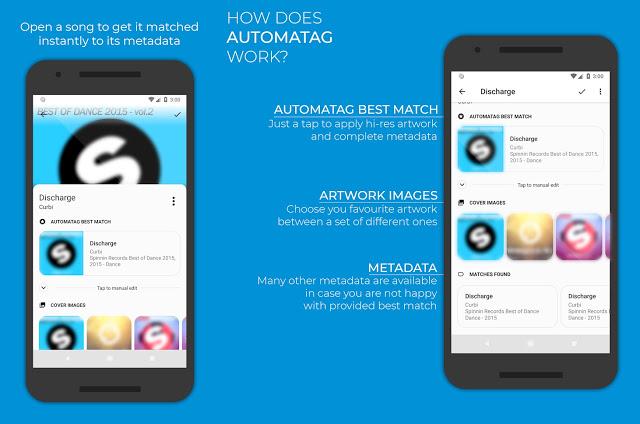 Descarga Automatic Tag Premium | Coloca Carátula en Canciones para Android