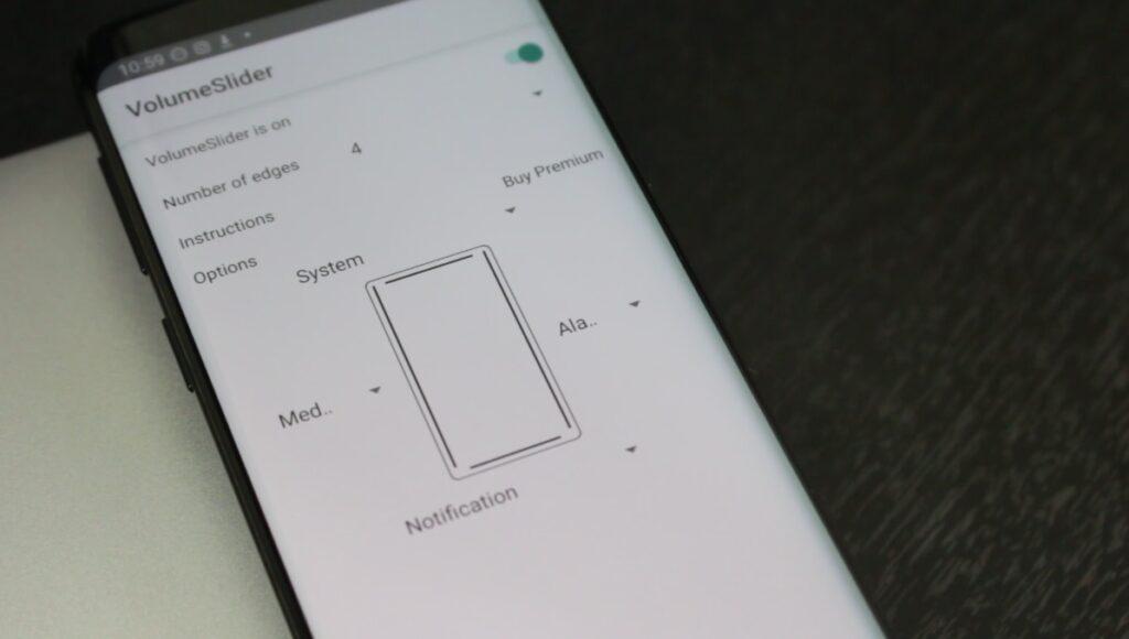 Volume Styles gestos con control de volumen en android
