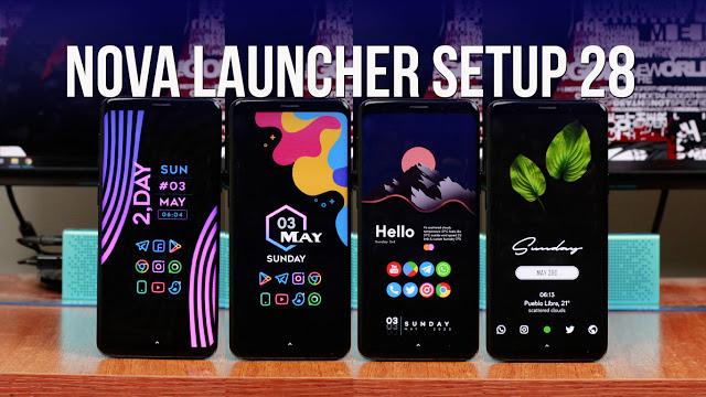 Nova Launcher Setup 28 | Personalizaciones Android Extremas!