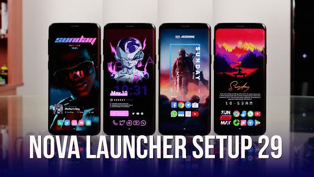 Nova Launcher Setup 29   Personalizaciones Android Extremas!