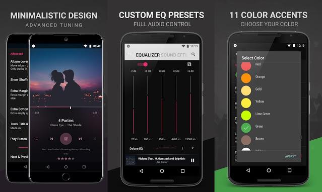 Descarga BlackPlayer Ex Premium Mejor Reproductor de Música Android