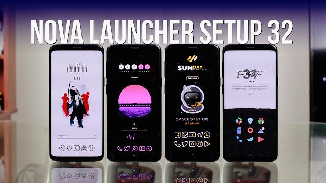 Nova Launcher Setup 32 | Personalizaciones Android Extremas!
