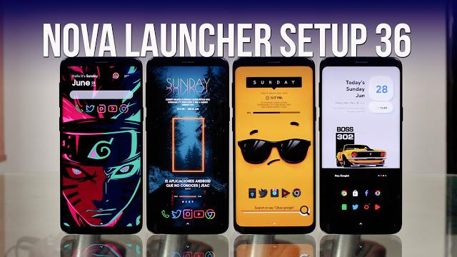 Nova Launcher Setup 36 | Personalizaciones Android Extremas!