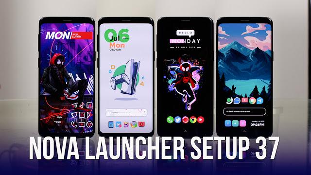 Nova Launcher Setup 37 | Personalizaciones Android Extremas!