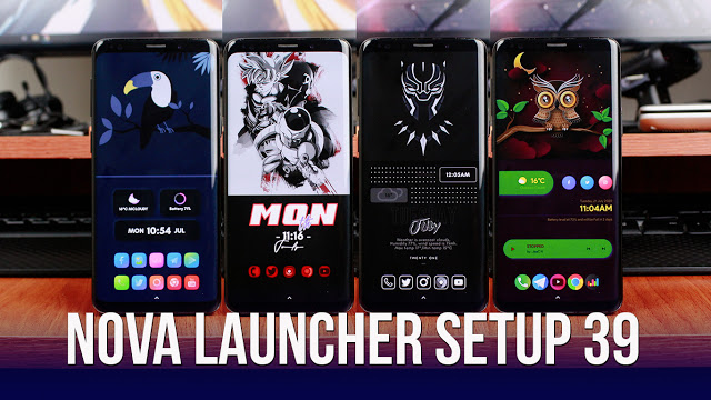 Nova Launcher Setup 39 | Personalizaciones Android Extremas!