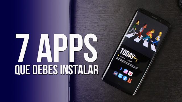 7 Aplicaciones Android Utiles que debes instalar