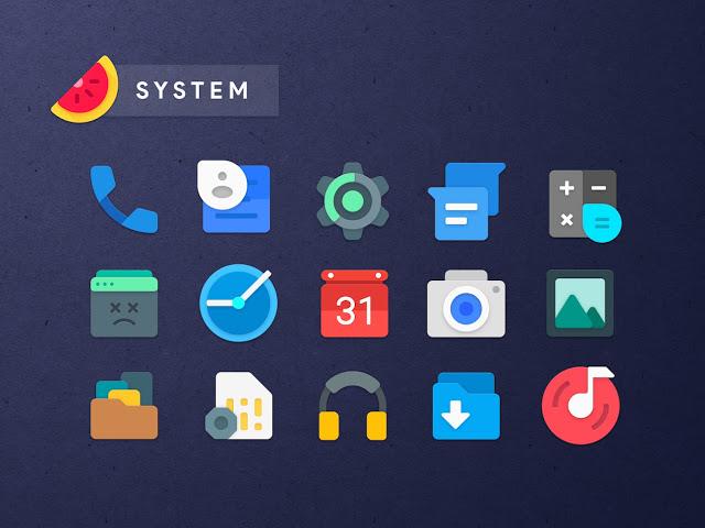 Sliced Icon Pack   Mejor Aplicación Pack de Icono para Android