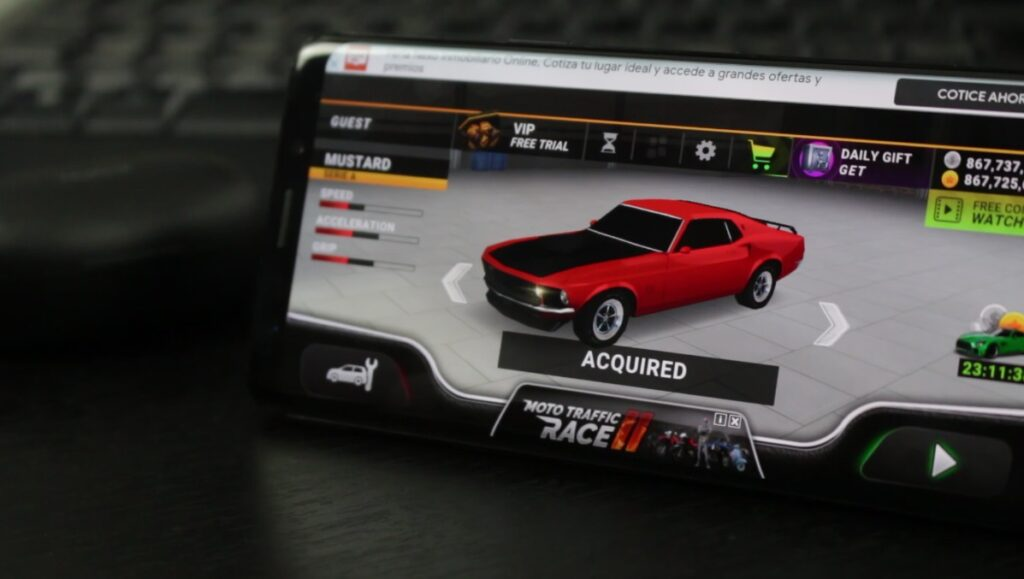 Drive for speed simulator juego android de carreras