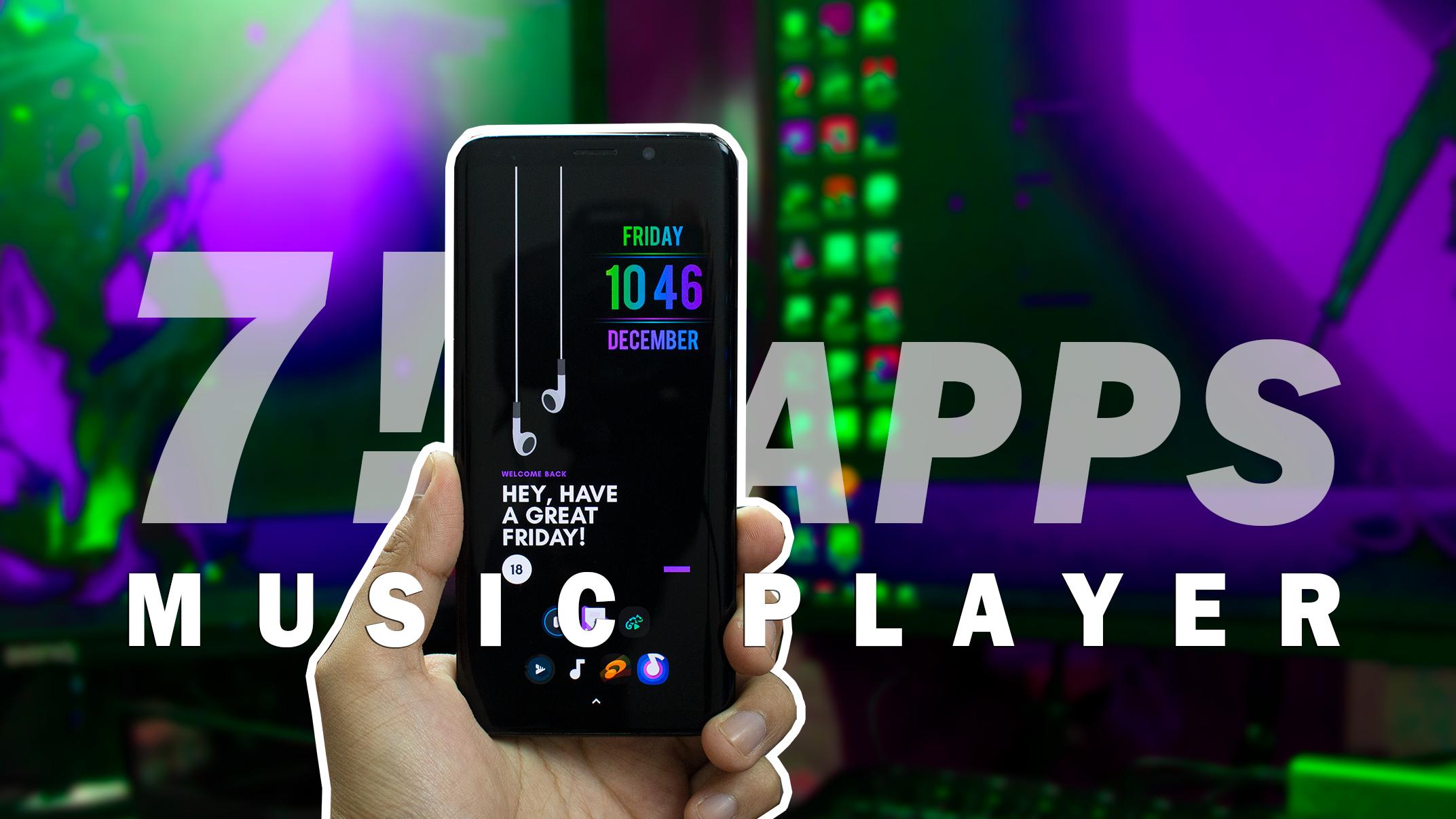 7 Aplicaciones Android Los Mejores Reproductores de Música Android 2021