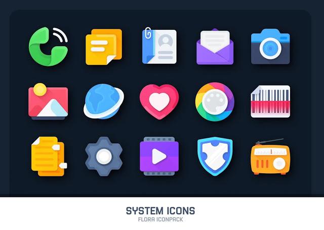 Descarga Flora Icon Pack Premium Android Apk Full