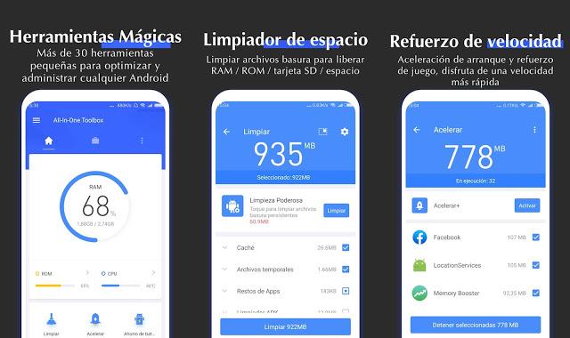 Como Optimizar tu Android con All In One Toolbox