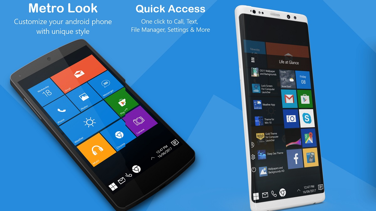Descarga Mejor Launcher Android con Launcher for Win 10
