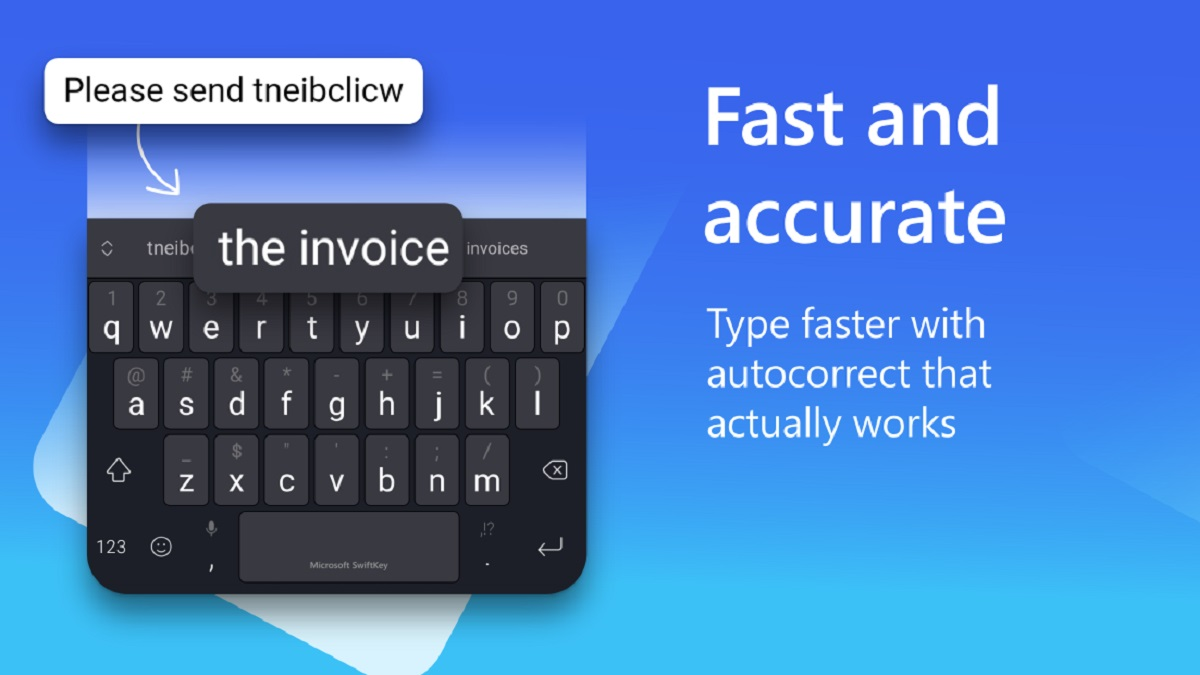Descarga Mejor Teclado Personalizable para Android con Micrsoft SwiftKey
