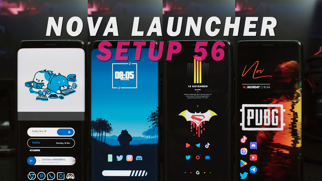 Como Personalizar Android al Extremo! – Nova Launcher Setup 56