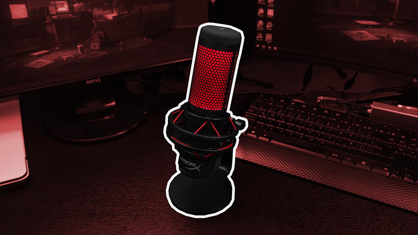 El mejor micrófono para STREAM | Hyperx QuadCast
