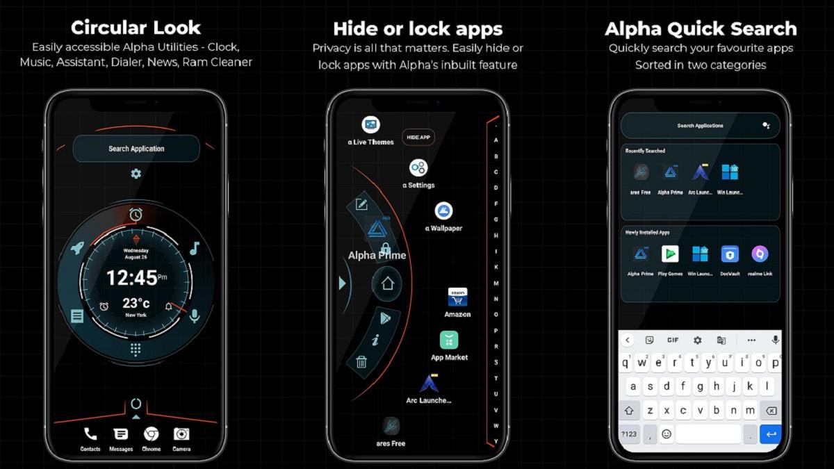 Descarga Mejor Launcher Android con Alpha Prime