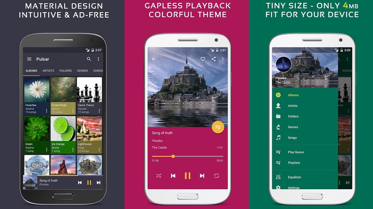 Descarga Mejor Reproductor de Música para Android con Pulsar