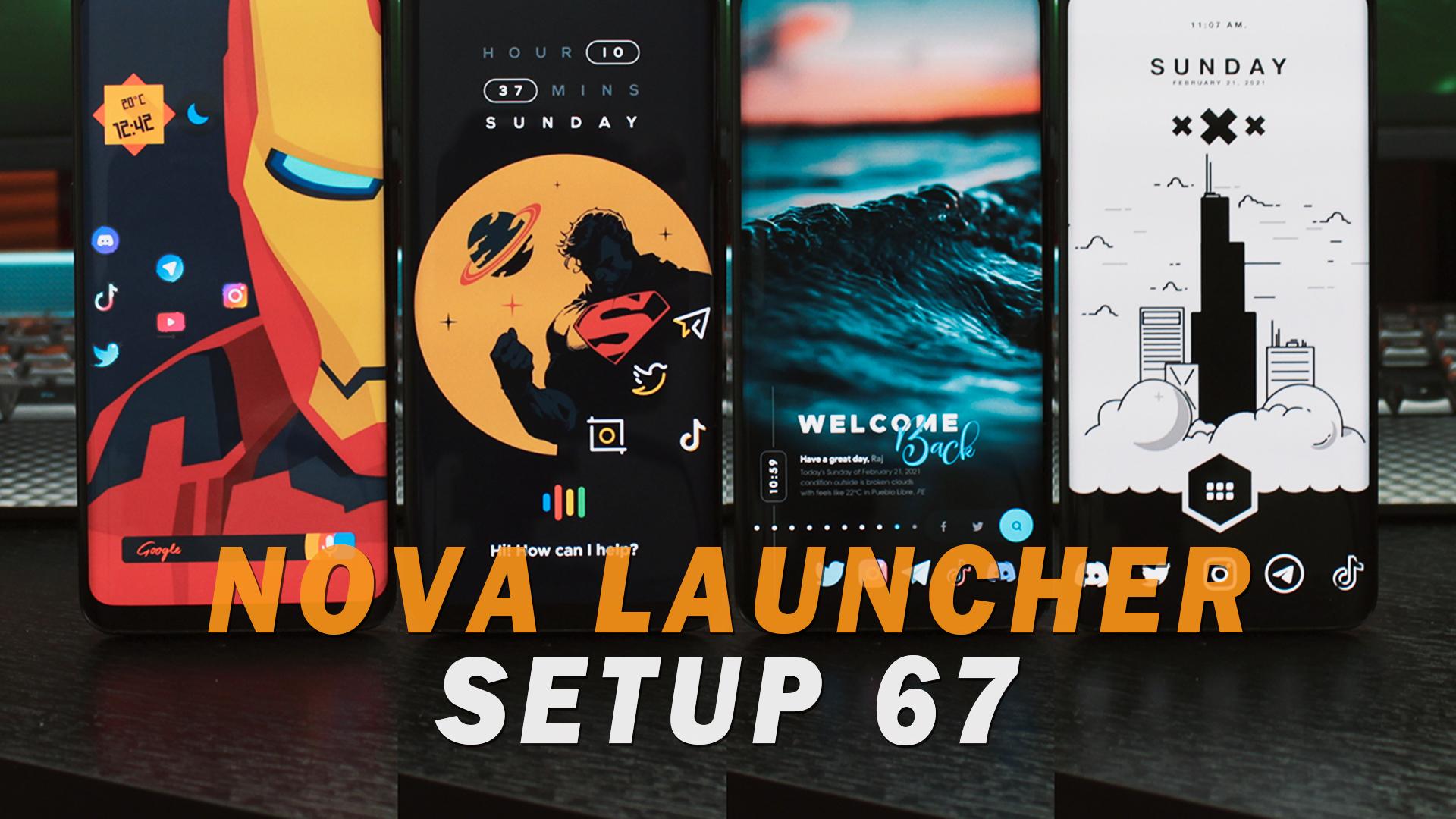 4 PERSONALIZACIONES ANDROID al Extremo! | Nova Launcher Setup 67