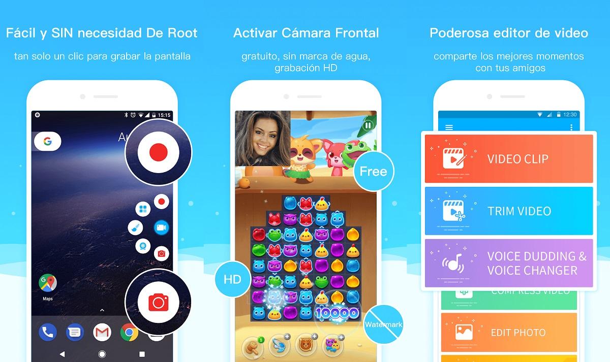 Descarga el Mejor Grabador de Pantalla Android con Super Screen Recorder