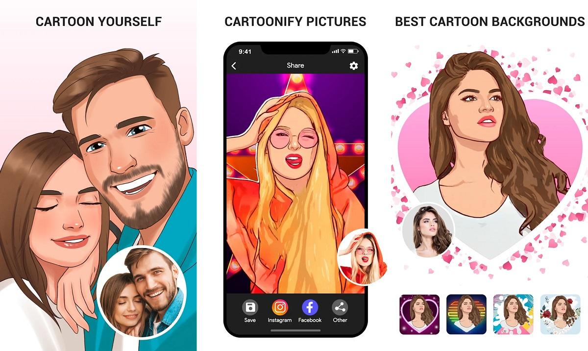 Convierte tus fotos en Caricaturas con ToonApp